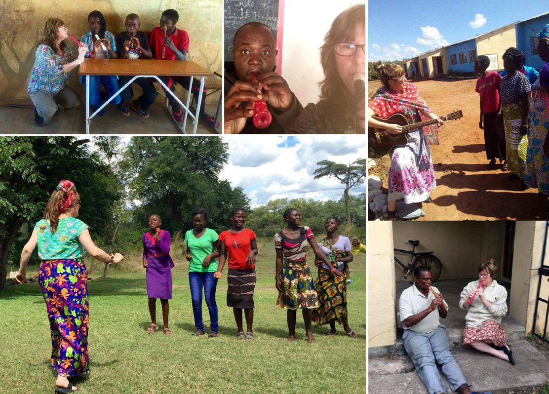 Music Bus in Zambia - alibullivent.co.uk