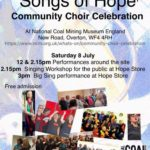 Songs of Hope poster - alibullivent.co.uk