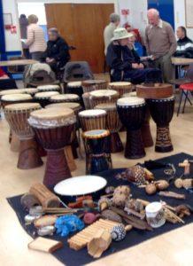 Therapeutic drums - alibullivent.co.uk
