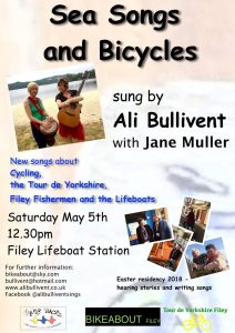 Sea Songs and Bicycles - alibullivent.co.uk