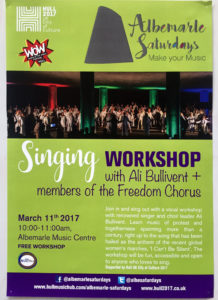 Singing Workshop - alibullivent.co.uk