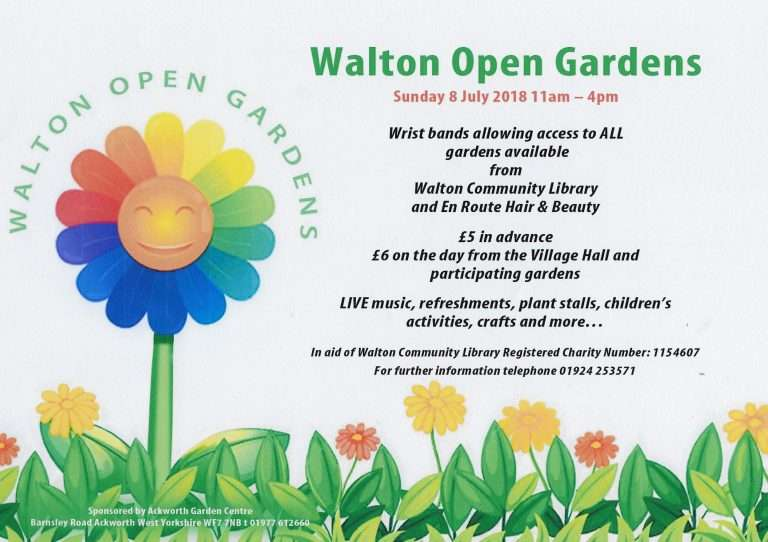 Walton Open Gardens - alibullivent.co.uk