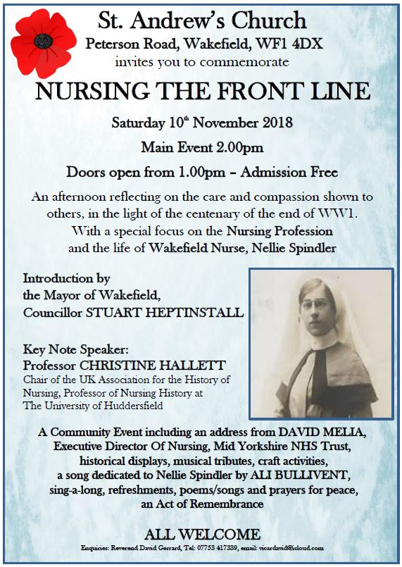 Nursing The Front Line - alibullivent.co.uk