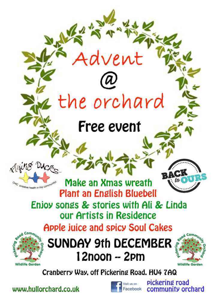 Advent poster - alibullivent.co.uk