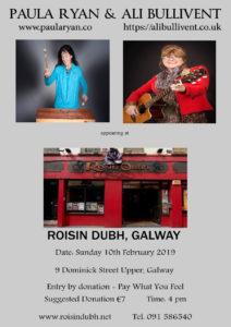 Roisin Dubh poster - alibullivent.co.uk
