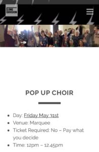 Pop Up Choir - alibullivent.co.uk