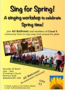 Sing For Spring - alibullivent.co.uk