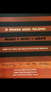 A spoken word polemic - alibullivent.co.uk