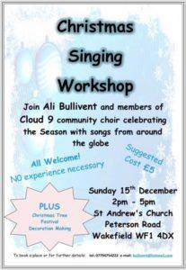 Christmas Singing - alibullivent.co.uk