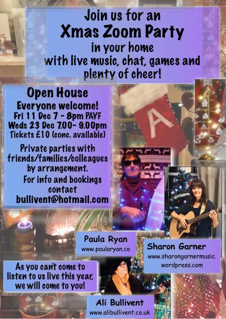 Xmas Zoom Party - alibullivent.co.uk
