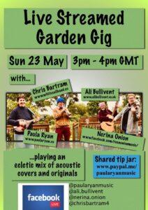Garden Gig - alibullivent.co.uk
