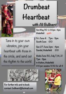Drumbeat Heartbeat - alibullivent.co.uk