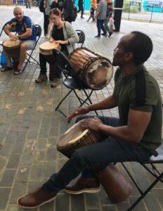 Drumming workshop - alibullivent.co.uk