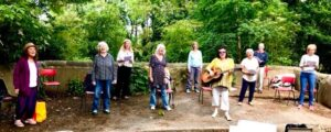 Outdoor singing workshops - alibullivent.co.uk