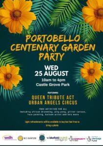 Portobello Centenary Garden Party - alibullivent.co.uk