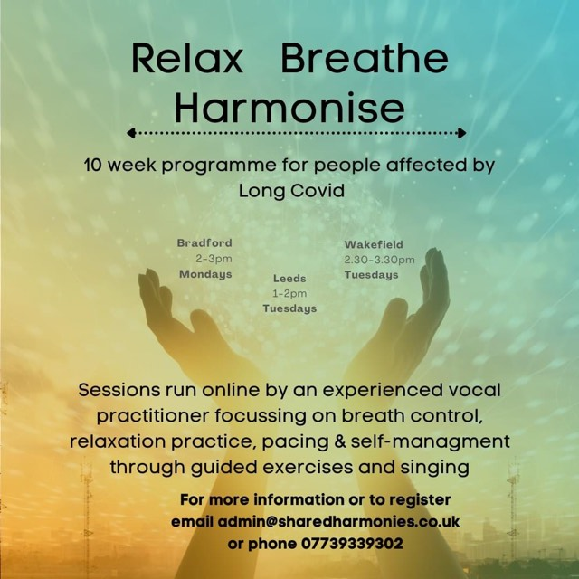 Relax Breathe Harmonise - alibullivent.co.uk