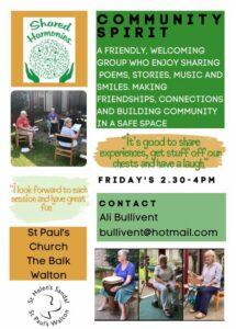 Weekly Workshops in Term Time - alibullivent.co.uk